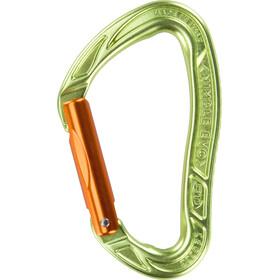Climbing Technology Nimble Evo S Mosquetón Cierre Recto, green/orange